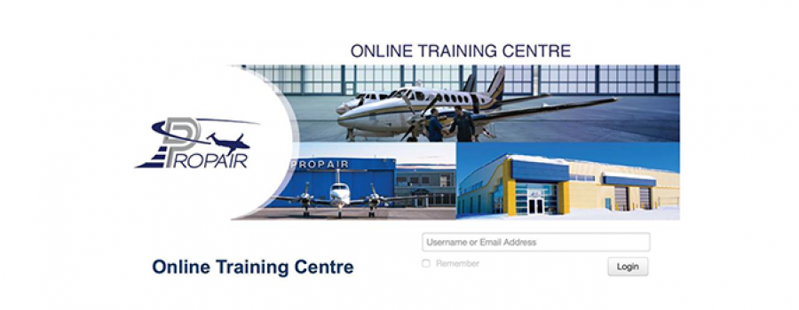 """Propair Inc. acquired a complete """"ASCENT Aviation E-training System"""